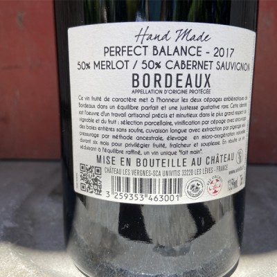 PERFECT - BALANCE   rouge - 13,5 % vol