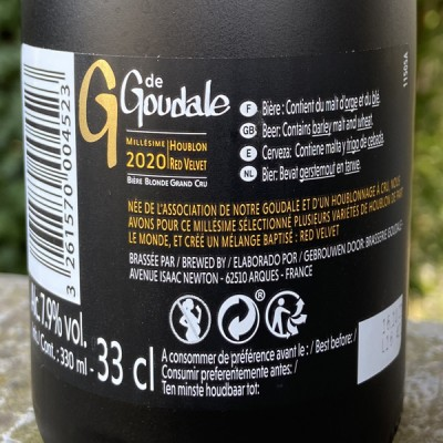 GOUDALE GRAND CRU - 33 CL