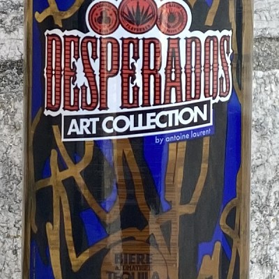 DESPERADOS ART COLLECTION - AROMATISEE TEQUILA - 33 CL