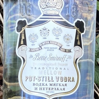 Vodka - SMIRNOFF BLACK -70 CL